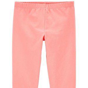 OshKosh B'gosh Peach Crop Leggings Size 5T
